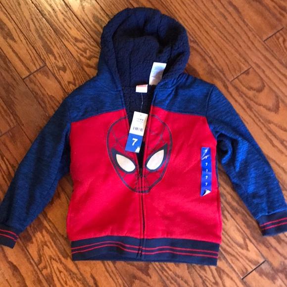 Spider-Man Child Jacket Coat Marvel Comics PICK YOUR SIZE! NEW!
